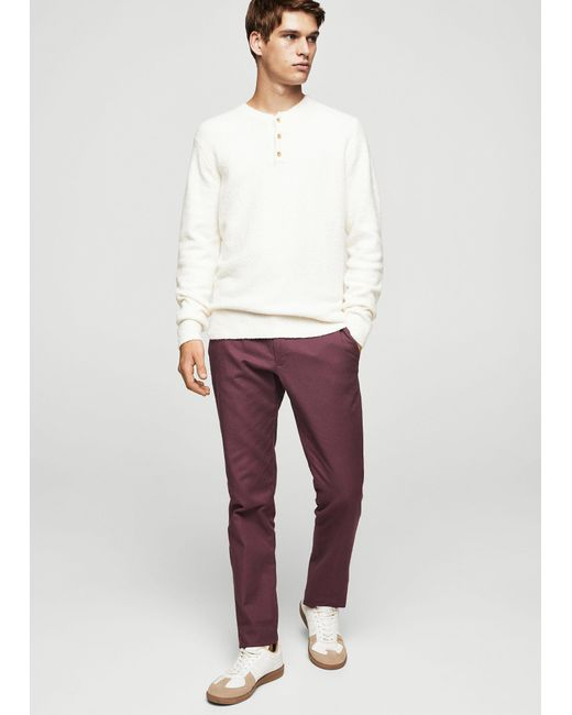 Mango | Multicolor Slim-fit Cotton Chinos for Men | Lyst