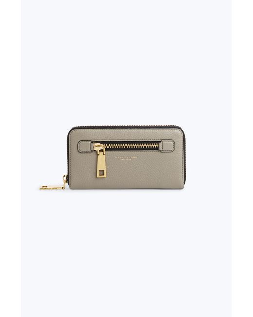 Marc Jacobs | Gray Gotham Standard Continental Wallet | Lyst