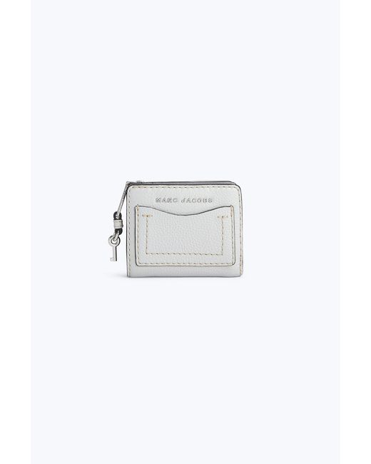 Marc Jacobs - Gray The Grind Mini Compact Wallet - Lyst