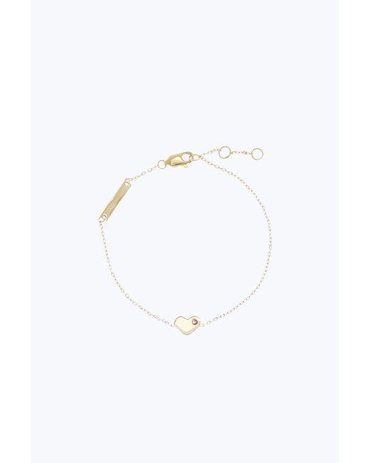 Marc Jacobs | Metallic Heart Chain Bracelet | Lyst