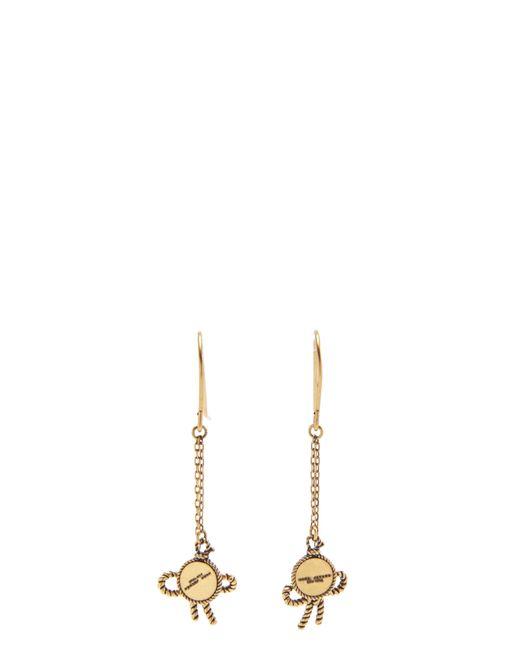 Marc Jacobs   Metallic Rope Bow Earrings   Lyst