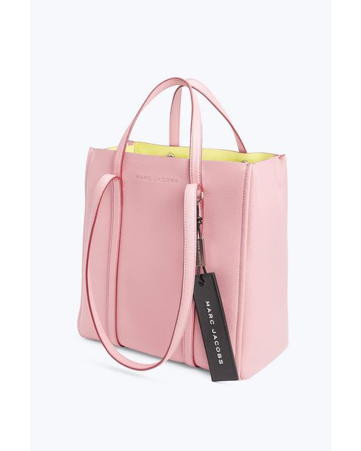 6c97ca5166a9 ... Marc Jacobs - Pink The Tag Tote - Lyst ...
