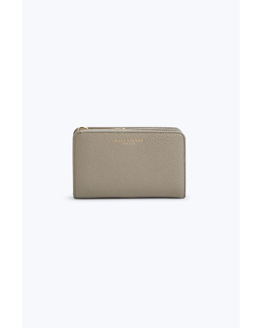 Marc Jacobs | Gray Gotham Compact Wallet | Lyst