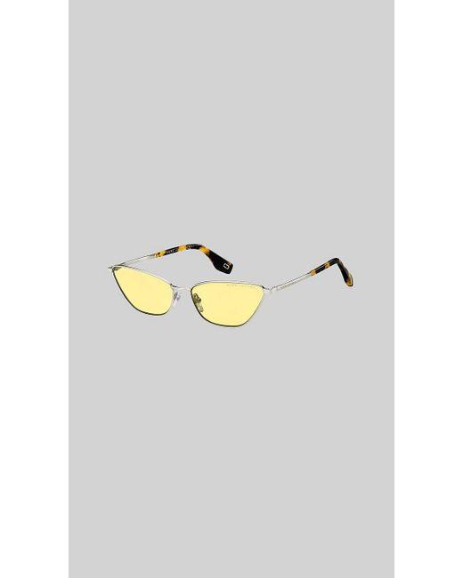 1f3be5dc054f Marc Jacobs - Metallic Retro Vintage Mini Cat-eye Sunglasses - Lyst ...