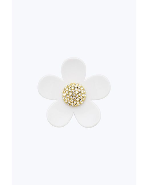 Marc Jacobs - White Small Daisy Pin - Lyst