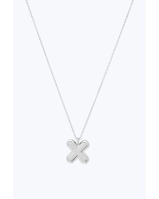 Marc Jacobs - Metallic Bubbly X Pendant Necklace - Lyst