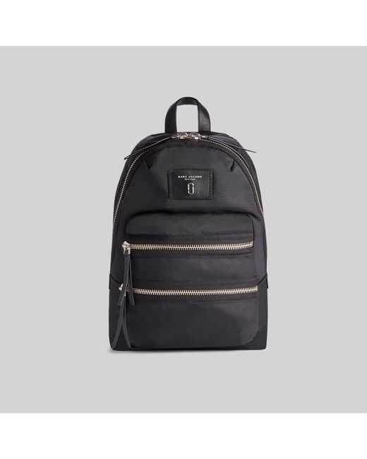 Marc Jacobs Black Nylon Biker Mini Backpack