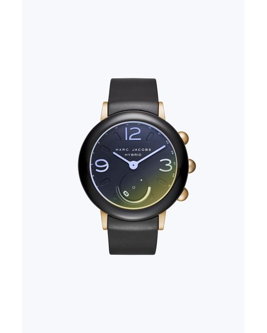 Marc Jacobs | Black Riley Hybrid Smartwatch | Lyst