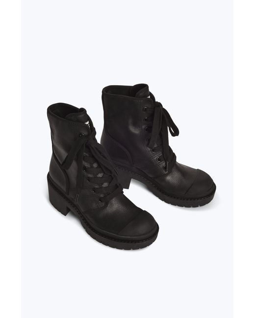 4075cef24a0 ... Marc Jacobs - Black Bristol Canvas Lace Up Boot - Lyst