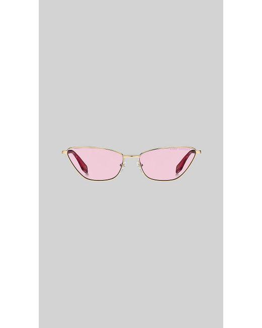 5488cb4907f2 ... Marc Jacobs - Pink Retro Vintage Mini Cat-eye Sunglasses - Lyst ...