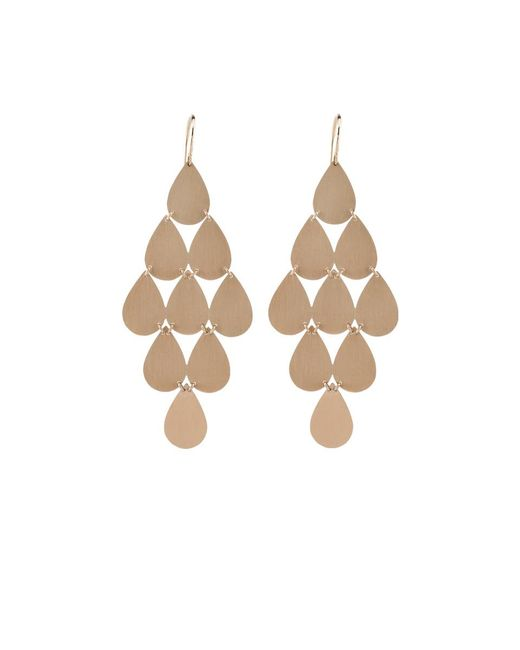 Irene Neuwirth - Metallic Nine-drop Chandelier Earrings - Lyst