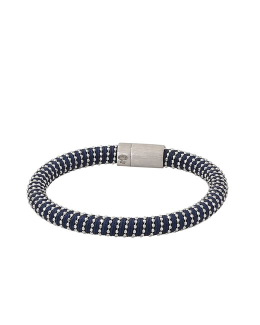 Carolina Bucci | Metallic Navy Twister Band Bracelet | Lyst