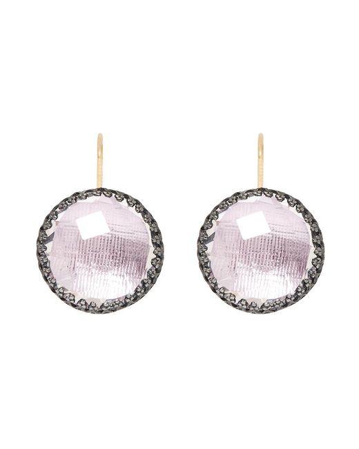 Larkspur & Hawk | Metallic Olivia Button Earrings | Lyst