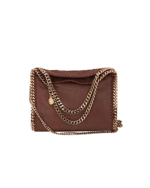 Stella McCartney | Brown Mini Falabella | Lyst