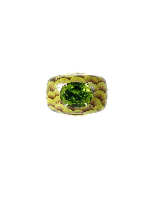 Silvia Furmanovich | Marquetry Green Ring | Lyst