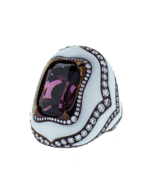 Arunashi | Multicolor Rhodolite Ring | Lyst