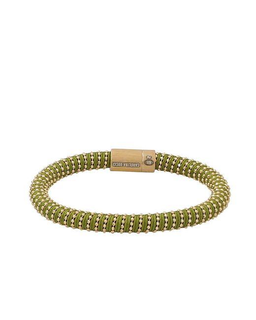 Carolina Bucci - Metallic Light Green Twister Band Bracelet - Lyst
