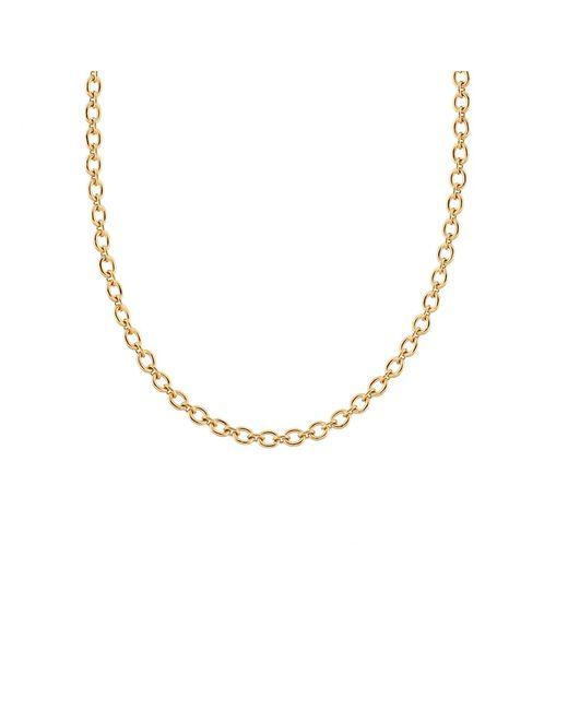 Irene Neuwirth - Metallic Tiny Oval Link Chain Necklace - Lyst