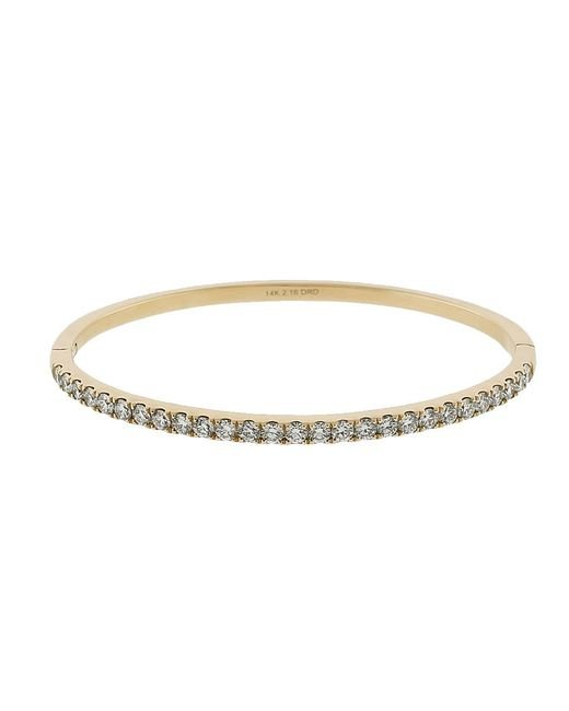 Dana Rebecca - Metallic Nikki Joy Diamond Cuff Bracelet - Lyst