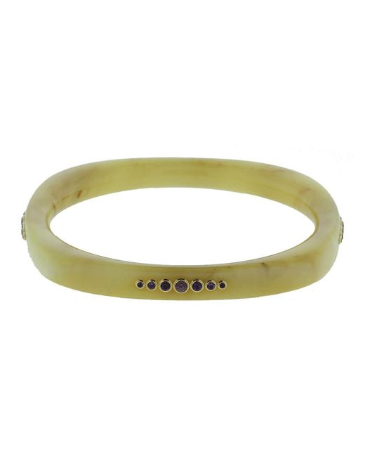 Mark Davis | Multicolor Beige Bakelite Bangle | Lyst