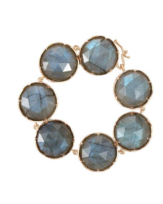 Irene Neuwirth - Blue Rose Cut Labradorite Bracelet - Lyst