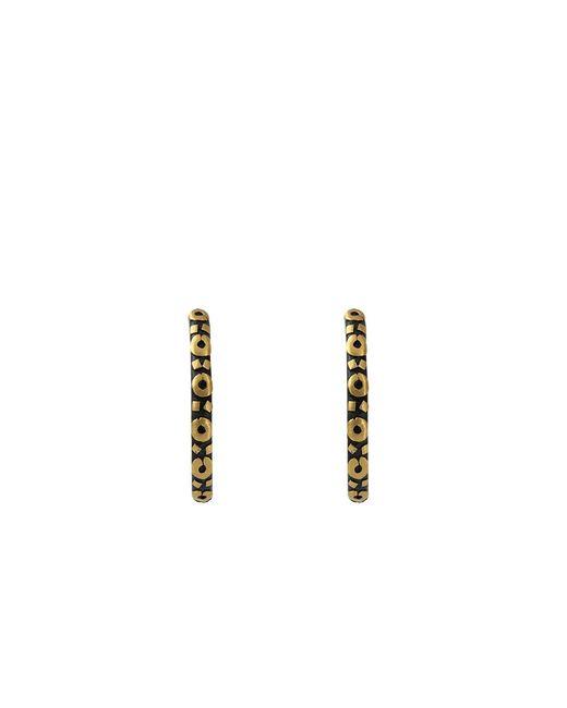 Yossi Harari - Yellow Medium Libra Hoop Earrings - Lyst