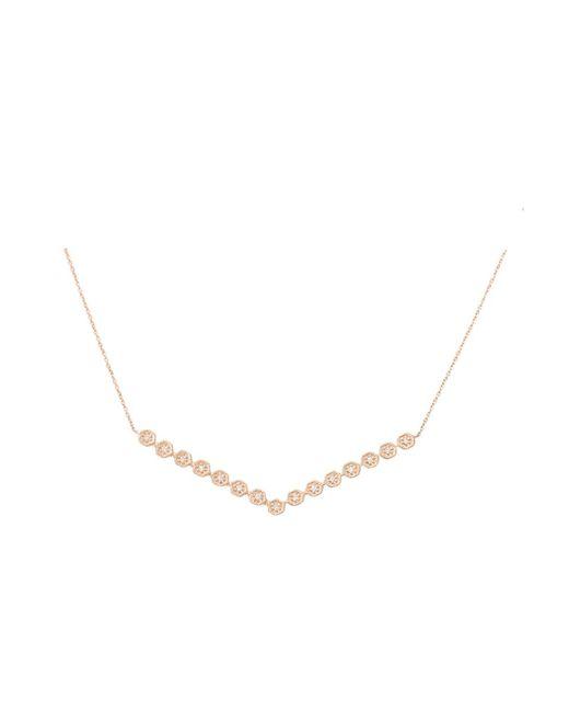 Dana Rebecca | Metallic Jennifer Yamini Diamond Necklace | Lyst
