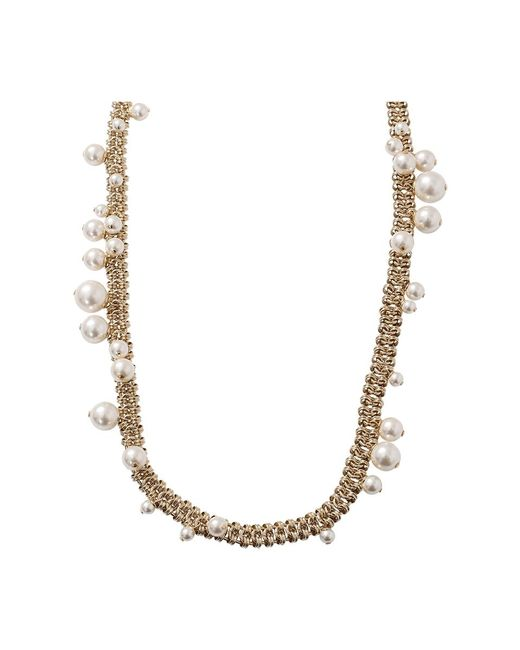 Lanvin | White Long Pearl Necklace | Lyst