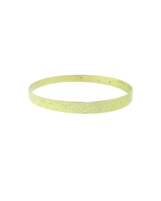 Todd Reed - Multicolor Diamond Sprinkle Tapered Bangle - Lyst