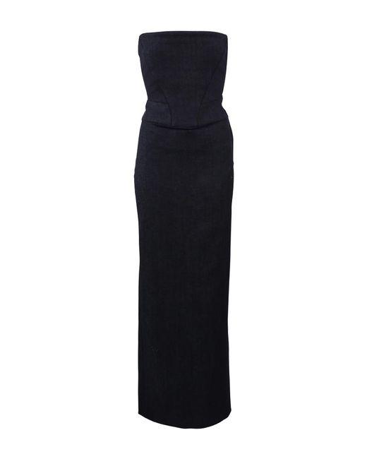 Adam Selman - Black Corset Column Dress - Lyst