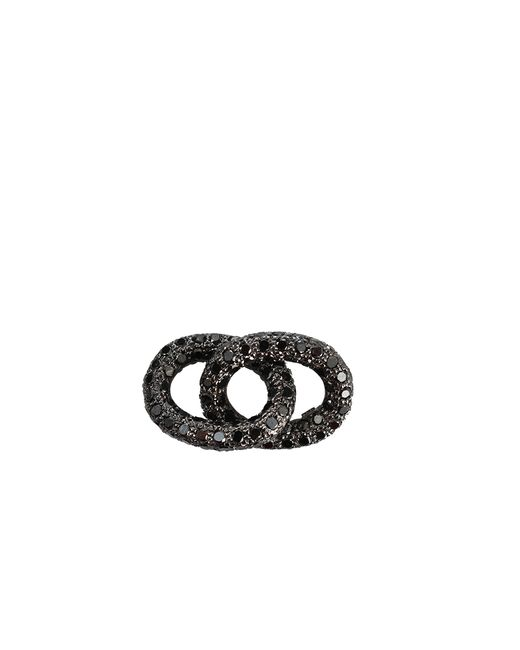 Carolina Bucci | Black Diamond 1885 Pave Links | Lyst