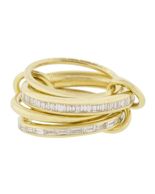 Spinelli Kilcollin - Metallic Lehmus Four Linked Rings - Lyst