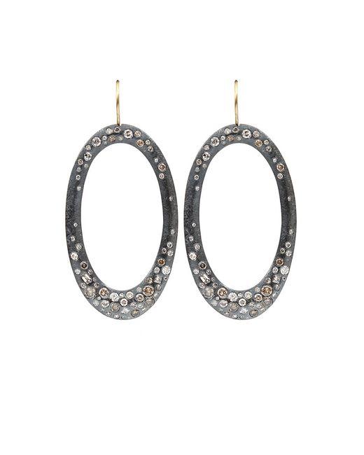 Todd Reed | Metallic Diamond Pave Drop Earrings | Lyst