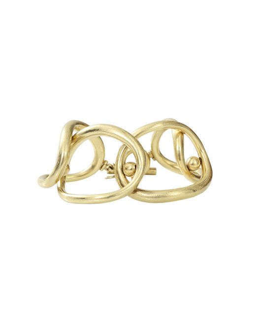 Vaubel | Metallic Overlap Oval Ring Bracelet | Lyst