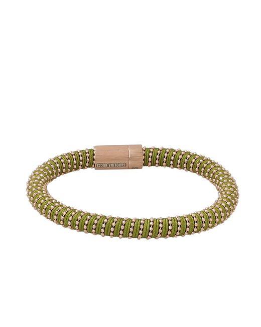 Carolina Bucci - Light Green Twister Band Bracelet - Lyst