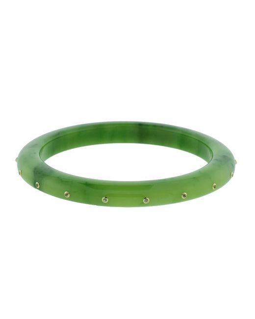 Mark Davis   Green Bakelite Bangle   Lyst