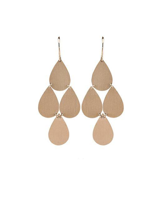 Irene Neuwirth | Metallic Four-drop Chandelier Earrings | Lyst