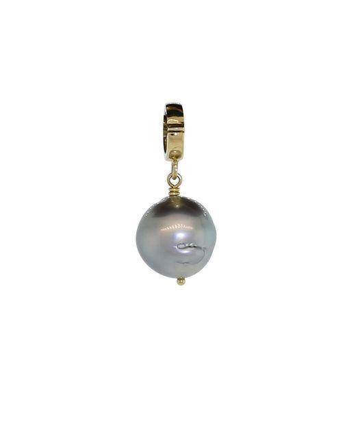 Mizuki | Multicolor Black Tahitian Pearl Clip Pendant | Lyst
