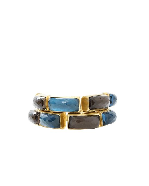 Vaubel | Blue Rectangle Stone Bracelet | Lyst