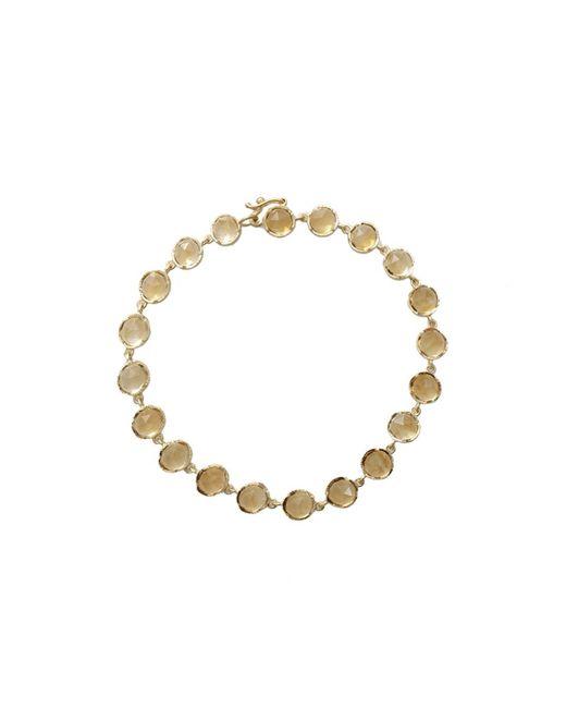 Irene Neuwirth | White Rose Cut Citrine Bracelet | Lyst