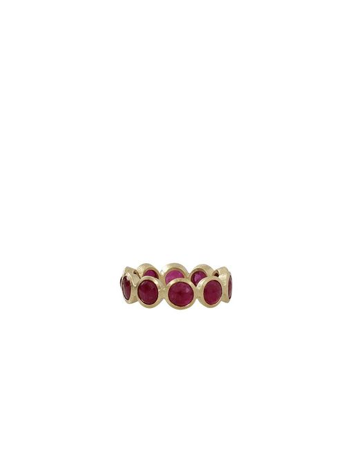 Todd Reed | Red Cabochon Ruby Eternity Ring | Lyst