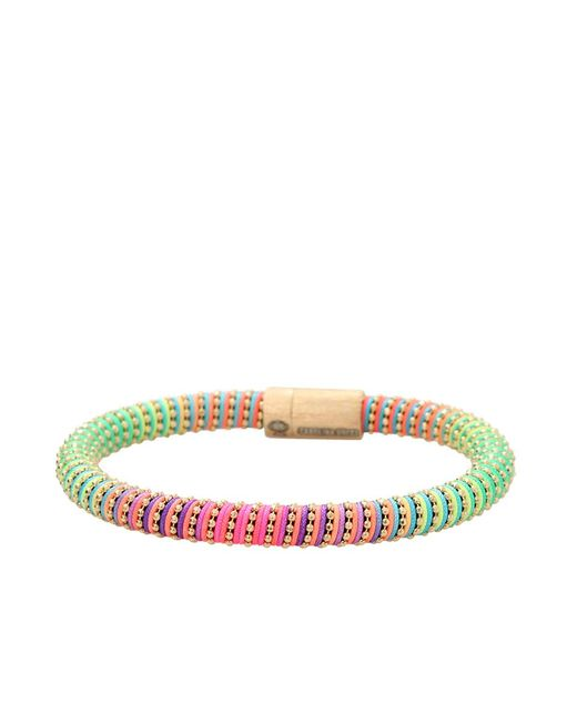 Carolina Bucci | Yellow Neon Twister Band Bracelet | Lyst