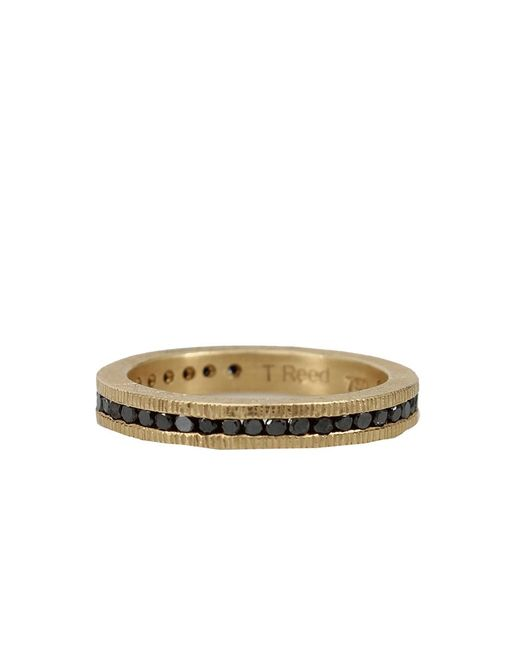 Todd Reed | Metallic Channel Set Black Diamond Eternity Ring | Lyst