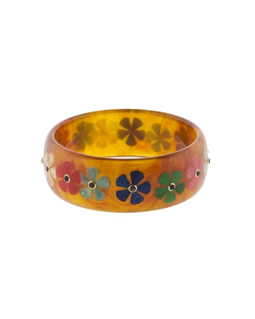 Mark Davis | Multicolor Tortoise Bakelite Bangle | Lyst