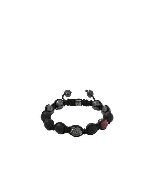 Shamballa Jewels | Black Onyx And Ruby Beaded Bracelet | Lyst