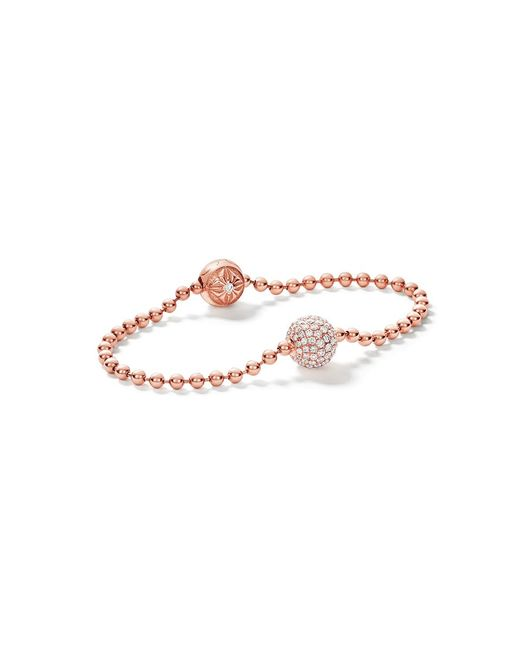 Shamballa Jewels | Metallic White Diamond Royal Bracelet | Lyst