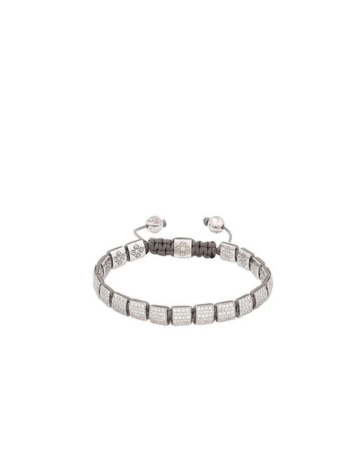 Shamballa Jewels | Metallic Reversible Diamond Lock Bracelet | Lyst