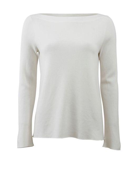 Michael Kors | White Super Cashmere Knit | Lyst