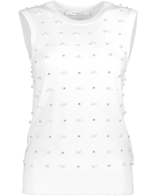 Givenchy - White Covered Pearl Shell - Lyst