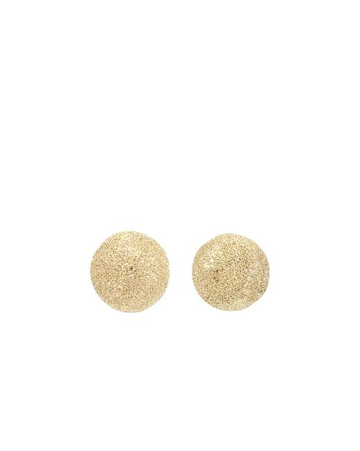 Carolina Bucci | Metallic Mirador Small Sparkly Gold Earrings | Lyst